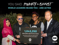 Malala, Michelle Obama and Ban Ki-moon got your message!